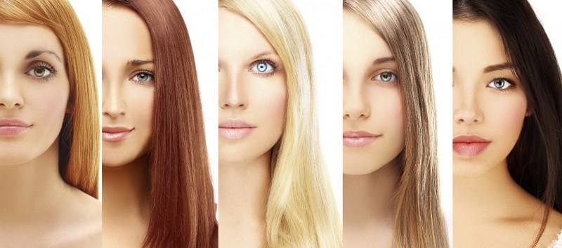 Immagini colori dei capelli